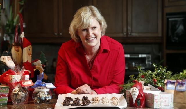 OTTAWA, ON. DECEMBER 9, 2013 --- Paula Roy makes delicious edible gifts in her Ottawa kitchen Monday. (Julie Oliver/Ottawa Citizen) #115362. LIFE. Sonia Mendes.